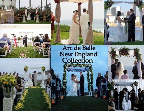 Arc de Belle's Tropical Aloha Spirit Wedding Arch & Canopy Rentals, beach wedding, Unique, Photo...