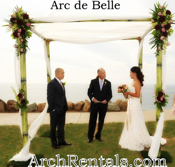 Bamboo Wedding Chuppah/Canopy Rentals. Available in Los Angeles,Orange County,San...