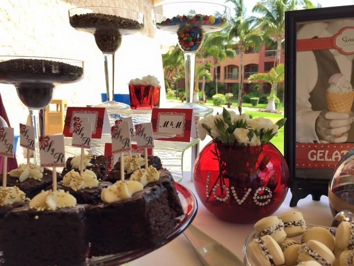 perfect wedding pastries cancun
