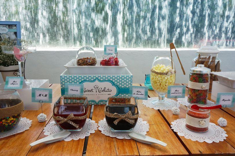 sweet gelato weddings events