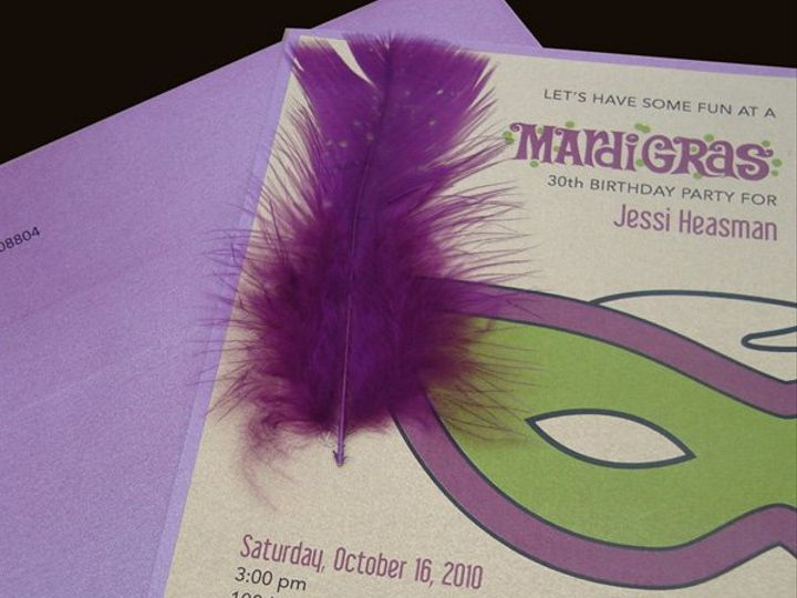 Tmx 1282788234298 Mardigras Flemington wedding invitation