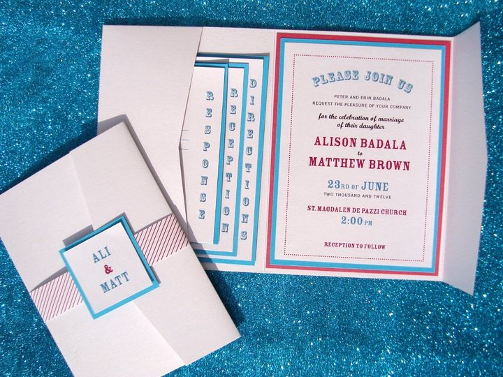 Tmx 1363717680754 DSC00659 Flemington wedding invitation