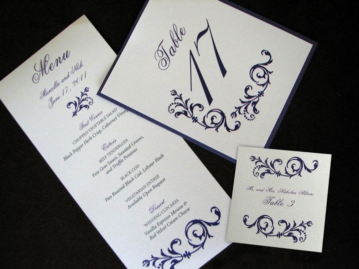 Tmx 1363718087633 IMG1362 Flemington wedding invitation