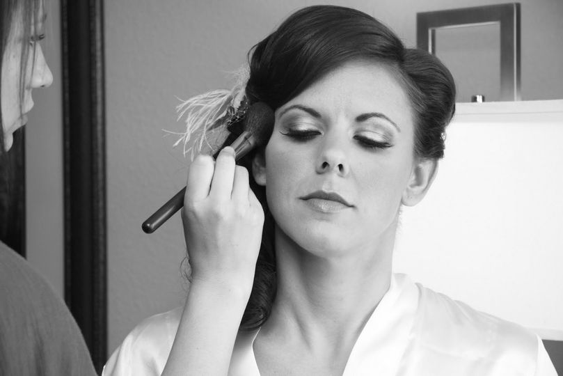 Perfecting the bridal look