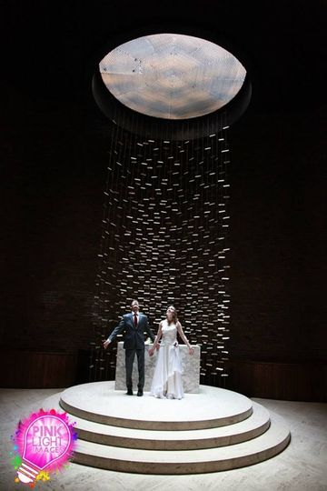 Pink Light Images Weddings - MIT chapel, Boston MA