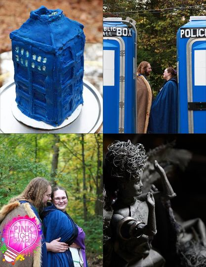 Dr Who Time Travel Wedding!Pink Light Images Weddings
