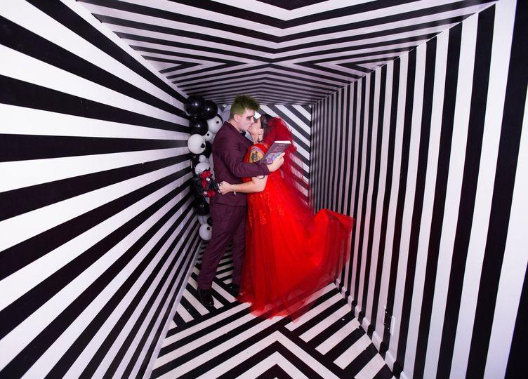 Weirdo Weddings Rainbow Vomit