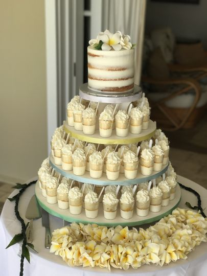A Cake Life - Wedding Cake - Honolulu, HI - WeddingWire