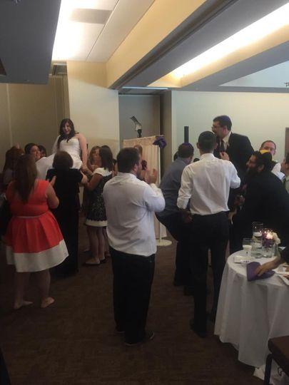 Reception at Aish Denver