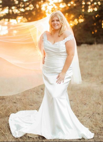 Another beautiful wedding gown that can be found at Della Curva, Southern California's first and...
