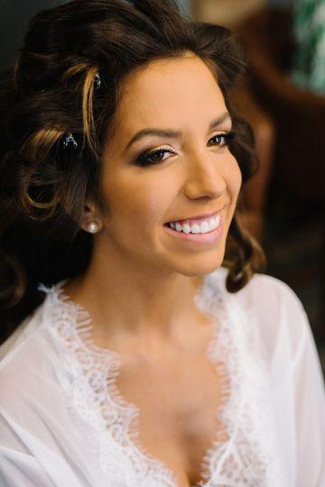 Bride Lisa. My Make-up