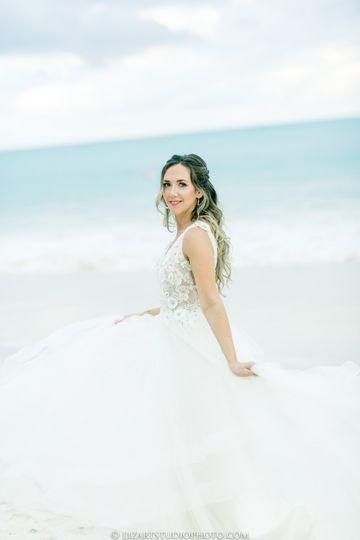 Bride Ashley. My MakeUp+Hair