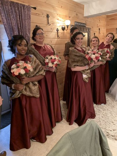 Wedding party - 💇🏼♀️By Candace