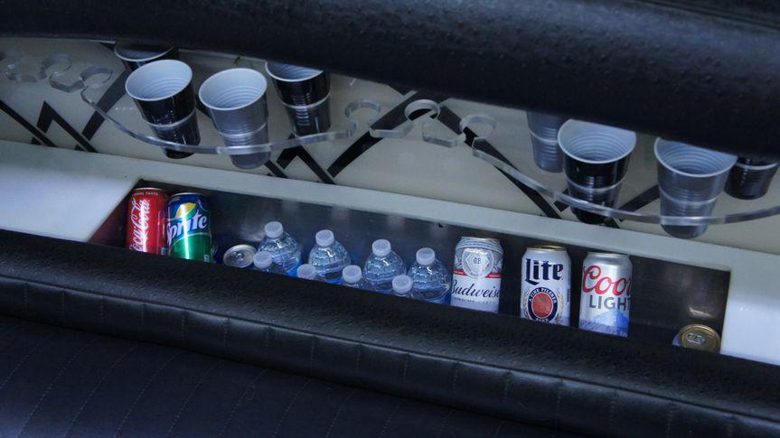 Ice cold refreshments