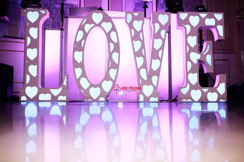 Wedding Love Decor