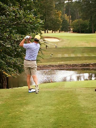 Golf club area