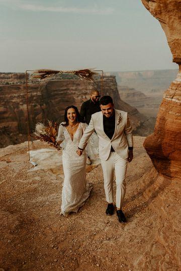 Sedona micro-wedding