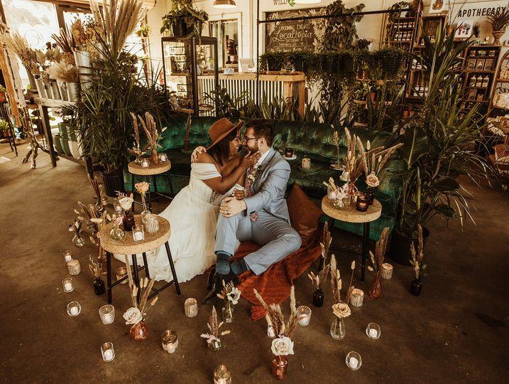 Romantic elopement