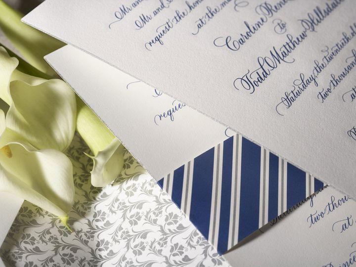 Tmx 1374503720197 Capitaldetail1 North Attleboro, MA wedding invitation