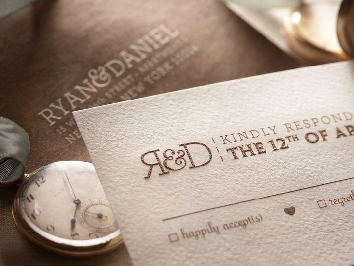 Tmx 1374503773164 Madisondetail3 North Attleboro, MA wedding invitation