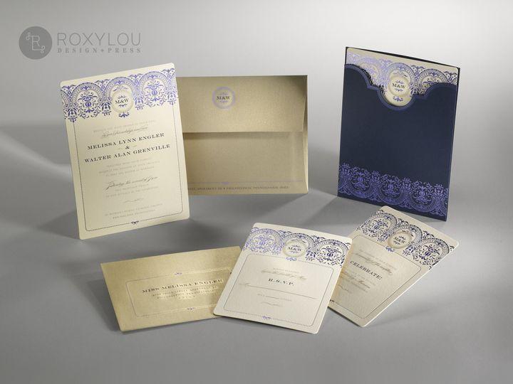Tmx 1374504600101 Baroquegroup   Copy North Attleboro, MA wedding invitation