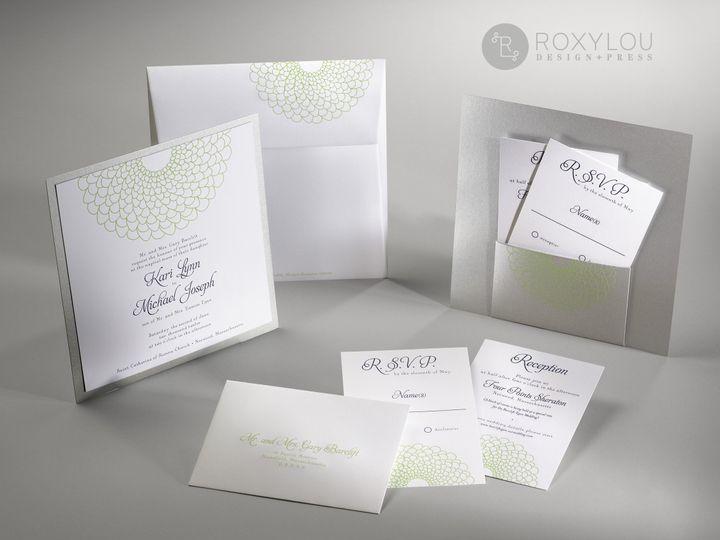 Tmx 1374504660356 Blossomgreengroup North Attleboro, MA wedding invitation