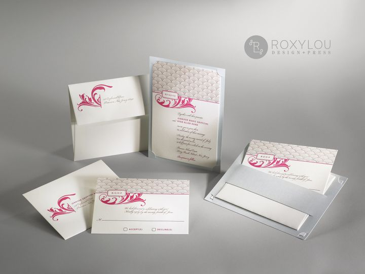 Tmx 1374504811233 Decogroup North Attleboro, MA wedding invitation
