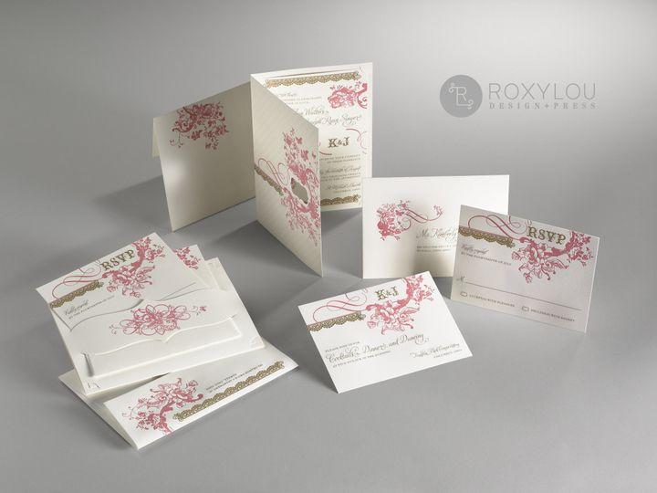 Tmx 1374504935645 Enchantedpinkgroup North Attleboro, MA wedding invitation