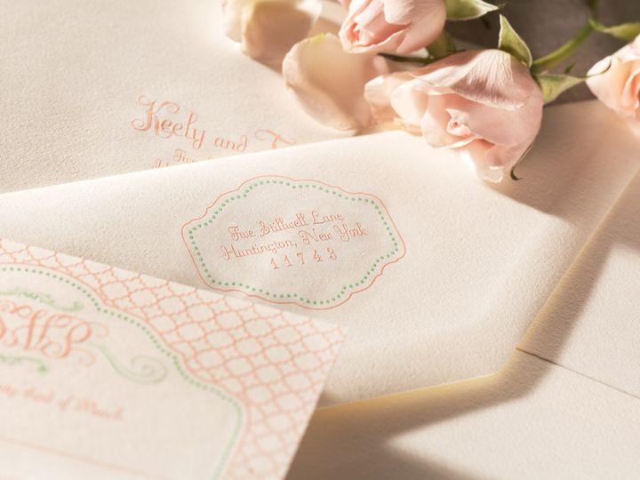 Tmx 1374505410973 Blissdetail3 North Attleboro, MA wedding invitation