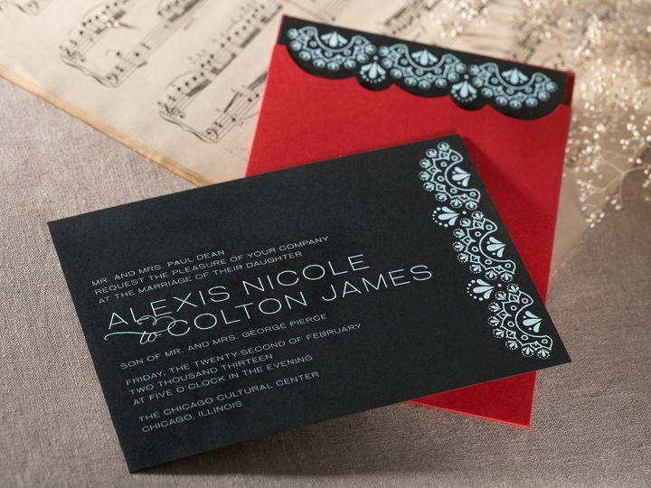 Tmx 1374505648735 Gypsydetail5 North Attleboro, MA wedding invitation