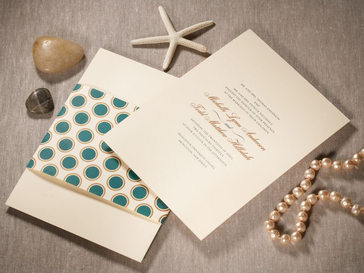 Tmx 1374505669739 Hamptondetail1 North Attleboro, MA wedding invitation