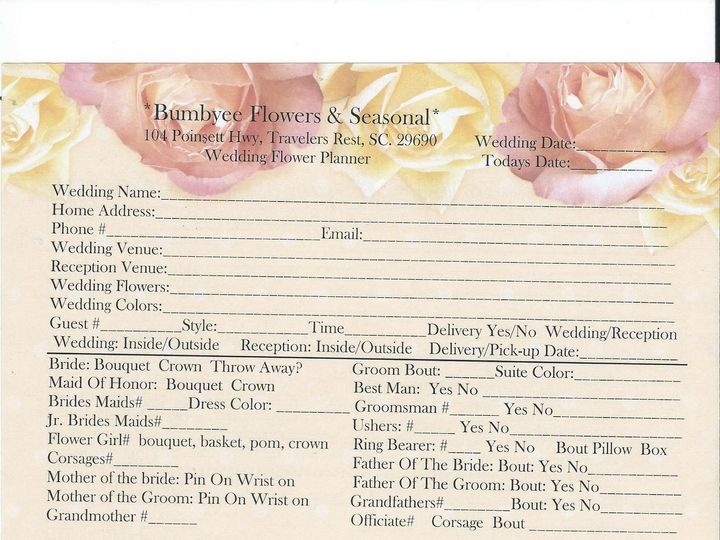 Tmx 1537728292 E68a7919eb2eb36f 1537728291 0b691453bfcd811b 1537728286995 1 Questioner Travelers Rest, SC wedding florist