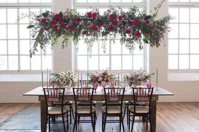 Garden Tablescape