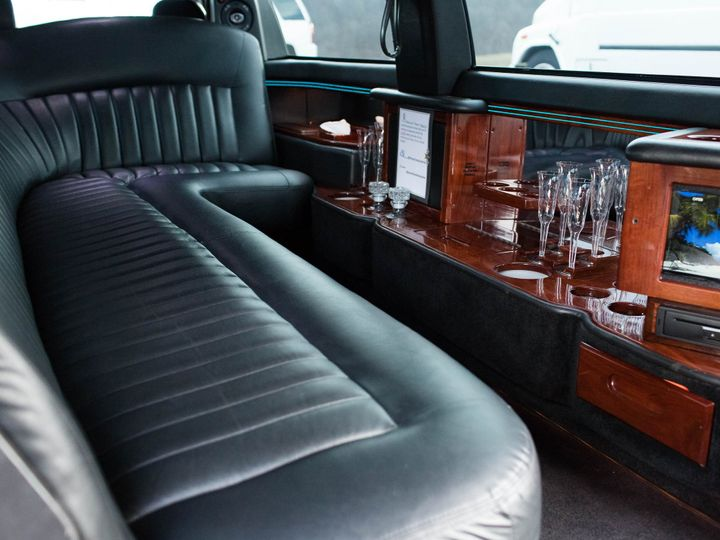 Tmx 1496749515588 Prime Time Limo Lincoln Interior Warrenton wedding transportation