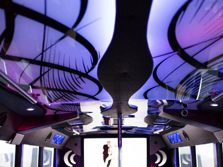 Tmx 1496749566954 Prime Time Limo  Limo Bus Interior Warrenton wedding transportation