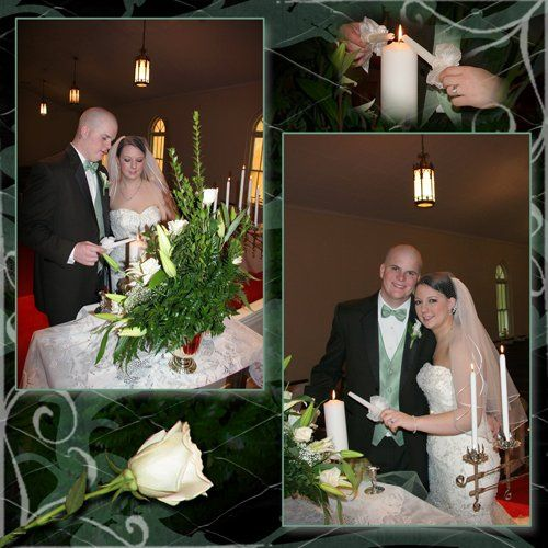 ViaWeddingLightingCandlesCollage10x10copy