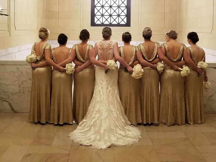 Bride with her bridesmaid