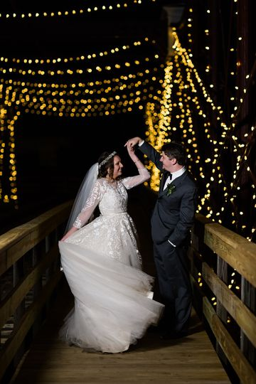 Dancing under the lights