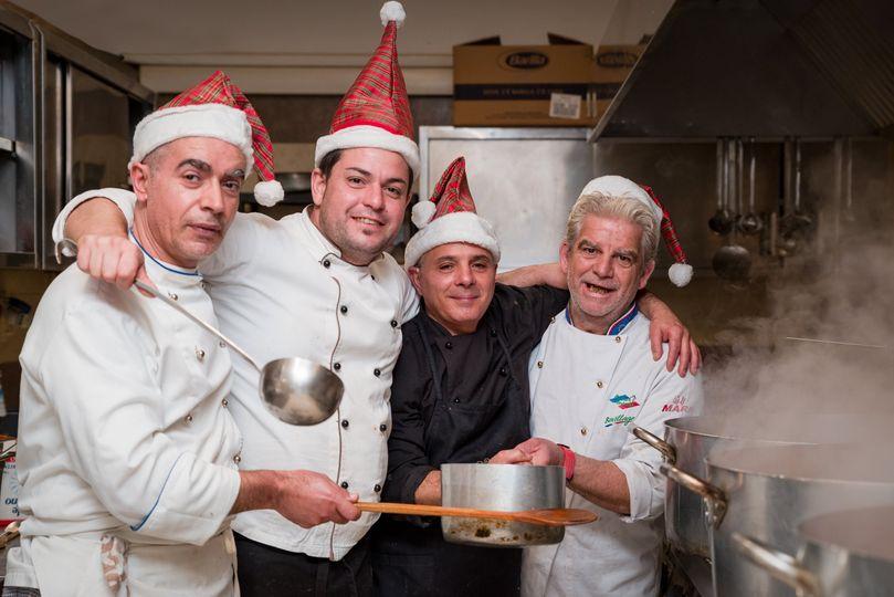The Santa Claus brigade