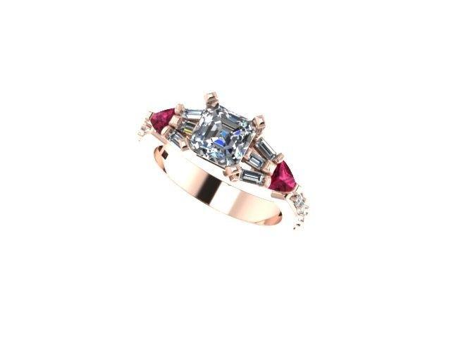 Tmx 1397677477134 Render With Stone Norfolk, VA wedding jewelry