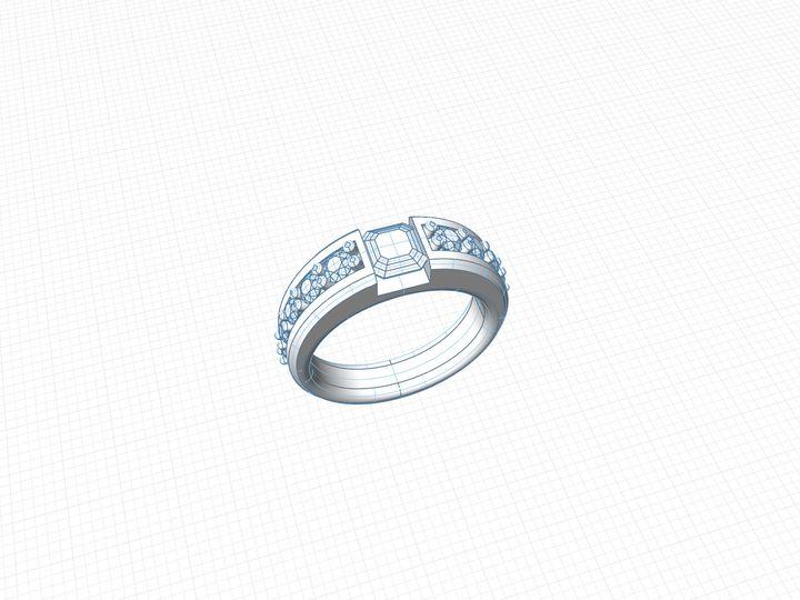 Tmx 1489852473476 Wireframe Ring Virginia Beach, Virginia wedding jewelry