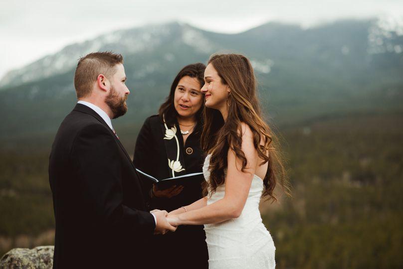 Continental Divide Wedding