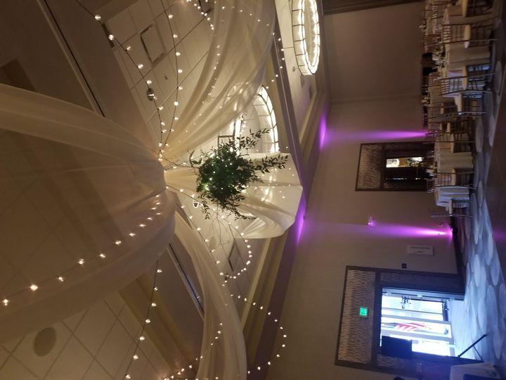 Ceiling work over dance floor
