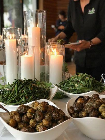 Tablescape buffet