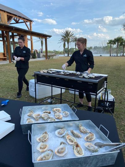 Grilled Oyster Station