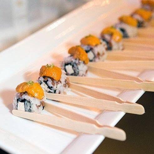 Butler passed sushi