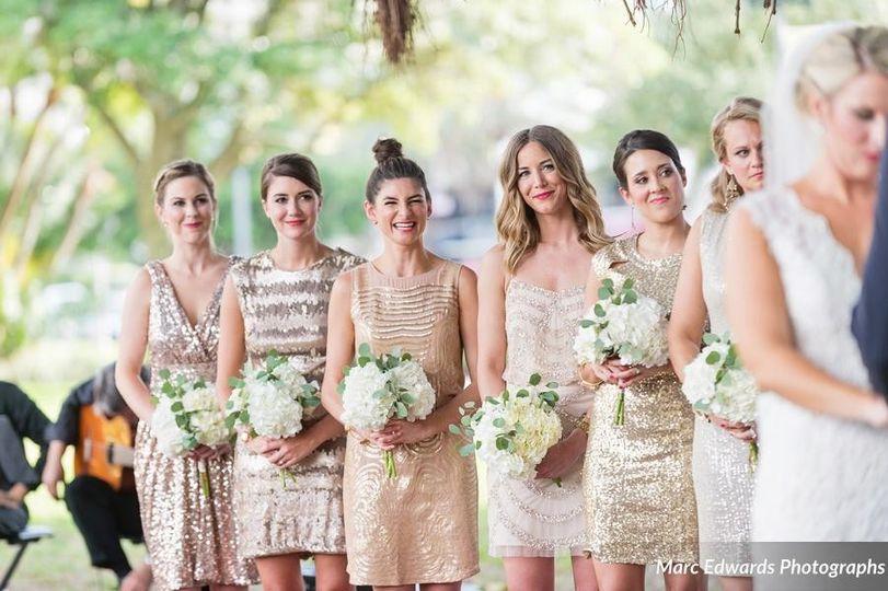 Champagne dresses
