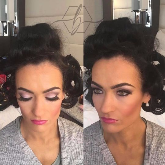 Fitness competitor makeup