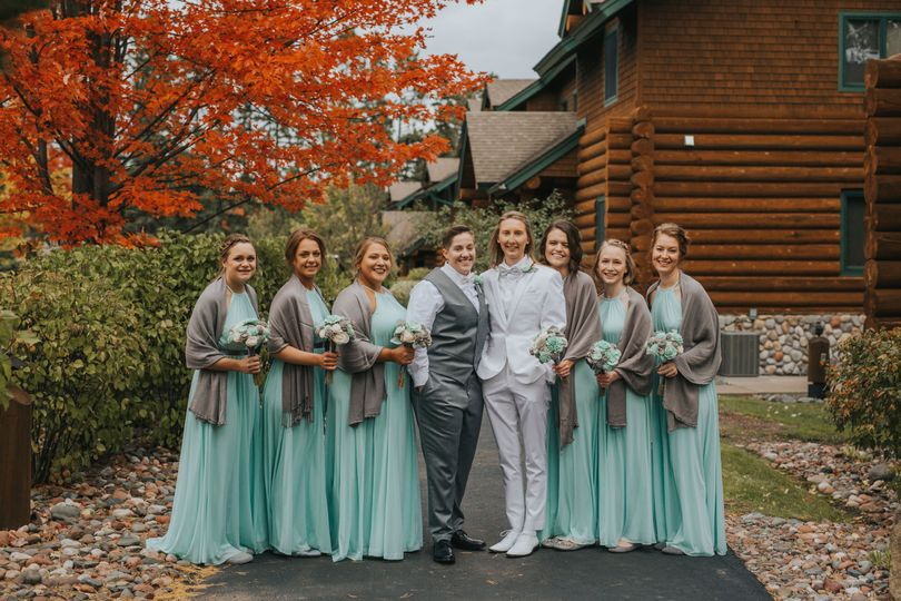 October Bridal Party