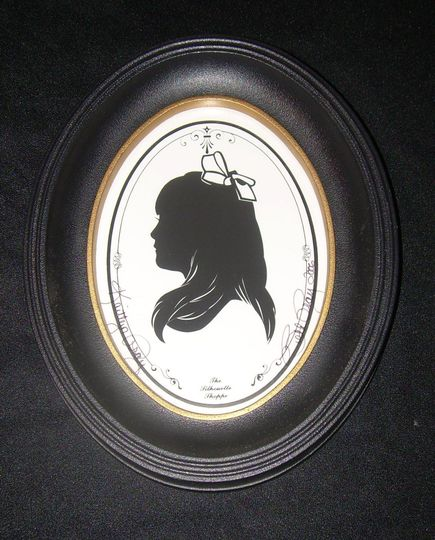 Hand cut silhouette